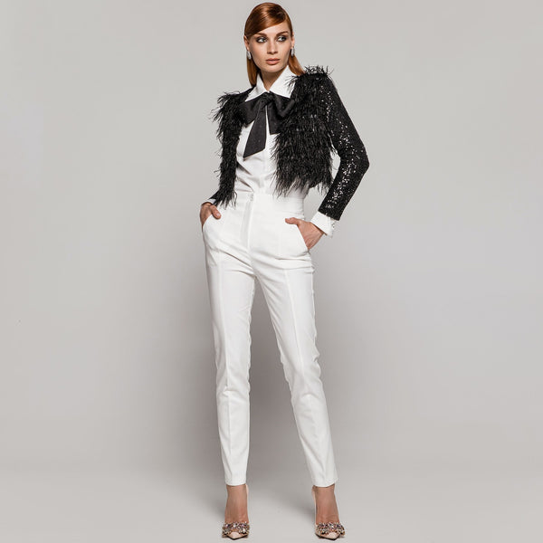 Access 7002 White Blouse
