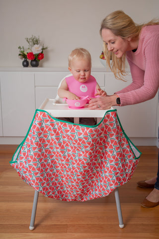 High Chair Food Catcher with Mum