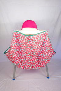 High chair (Ikea, Kmart, etc) padded Pink Hood