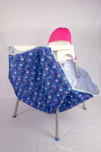 Load image into Gallery viewer, High chair (Ikea, Kmart, etc) padded Pink Hood