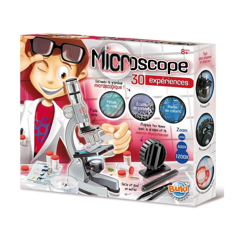 Microscope - 30 experiences