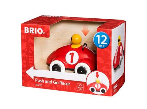 Voiture de course push and go - Brio