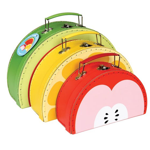 Set de 3 valisettes Fun Fruity