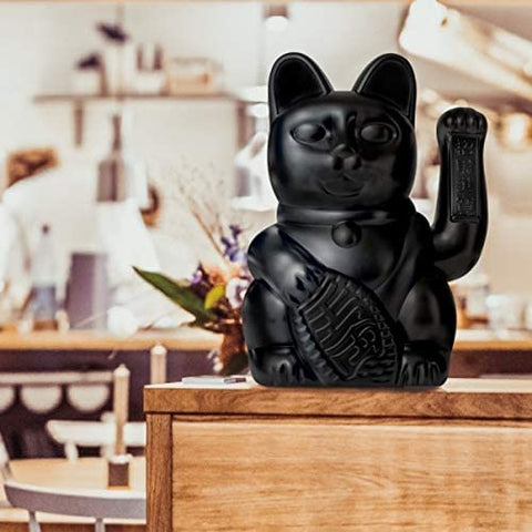Lucky Cat LARGE- Black