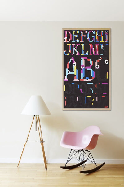 Poster & Stickers - Alphabet