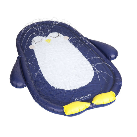 Tapis pingouin arroseur gonflable - inflatable water mat penguin sunnylife