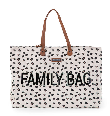 Sac Family Bag  canvas léopard