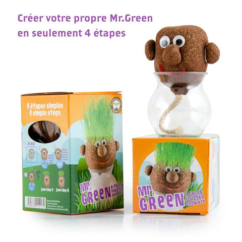 Mr Green sur vase
