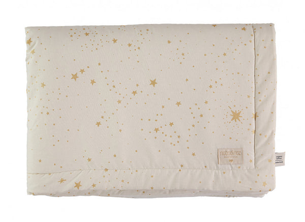 Couverture Laponia blanket small 140x100 gold stella natural