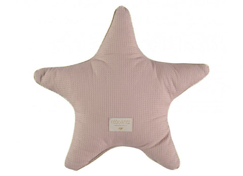 Coussin aristote star cushion 40x40 misty pink