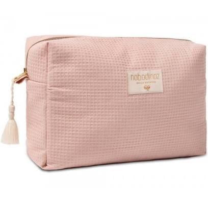 Trousse de toilette diva waterproof vanity case 25x16x10 misty pink