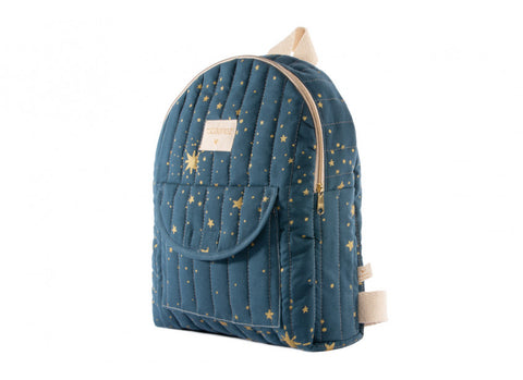 Sac à dos too cool kid backpack gold stella night blue