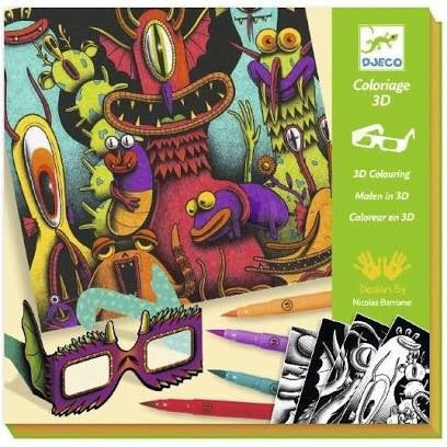Coloriage 3D - Funny Freaks