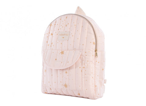 Sac à dos Too cool kid backpack gold stella pink