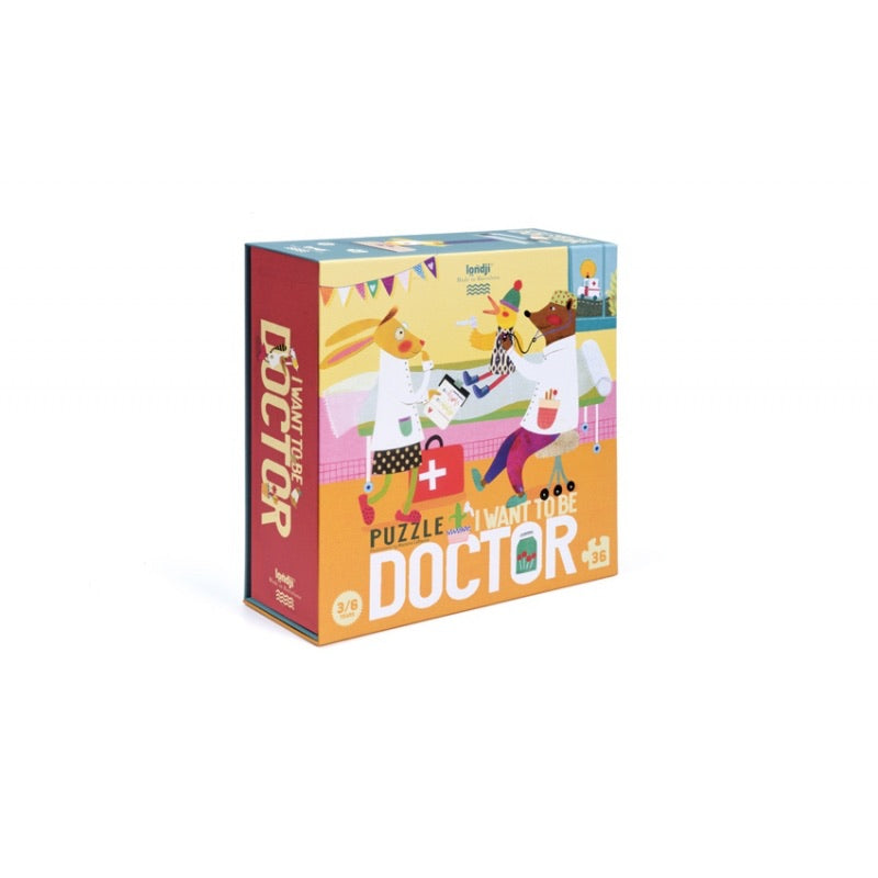 puzzle i want to be ... Doctor