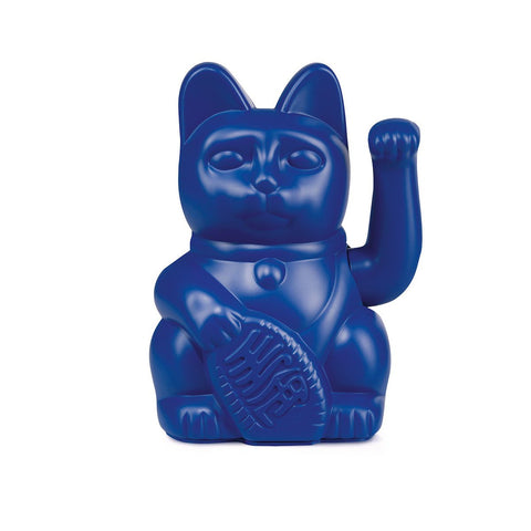 Lucky Cat - dark blue