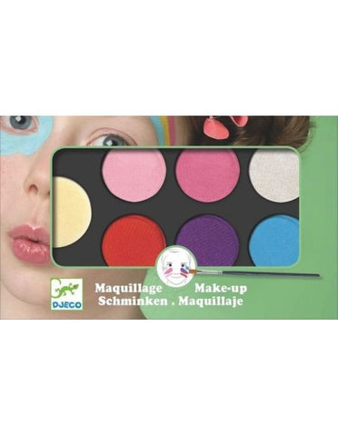 Palette 6 couleurs - maquillage sweet