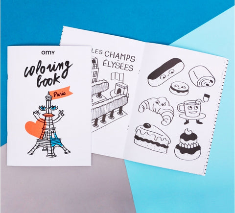 Cahier de coloriage Paris