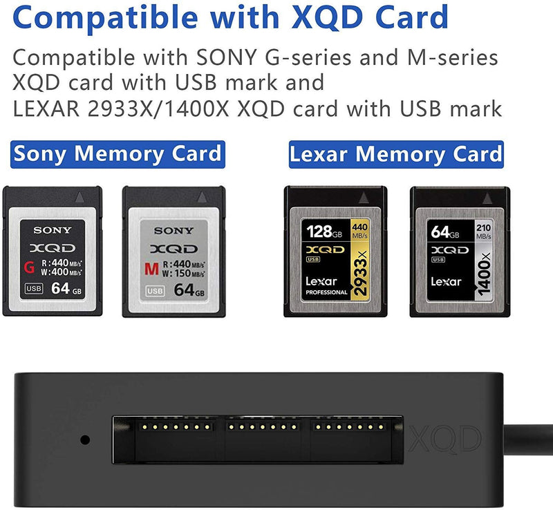 OEM XQD Card Reader USB3.0