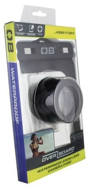 OverBoard Waterproof Zoom Lense Camera Case- Black