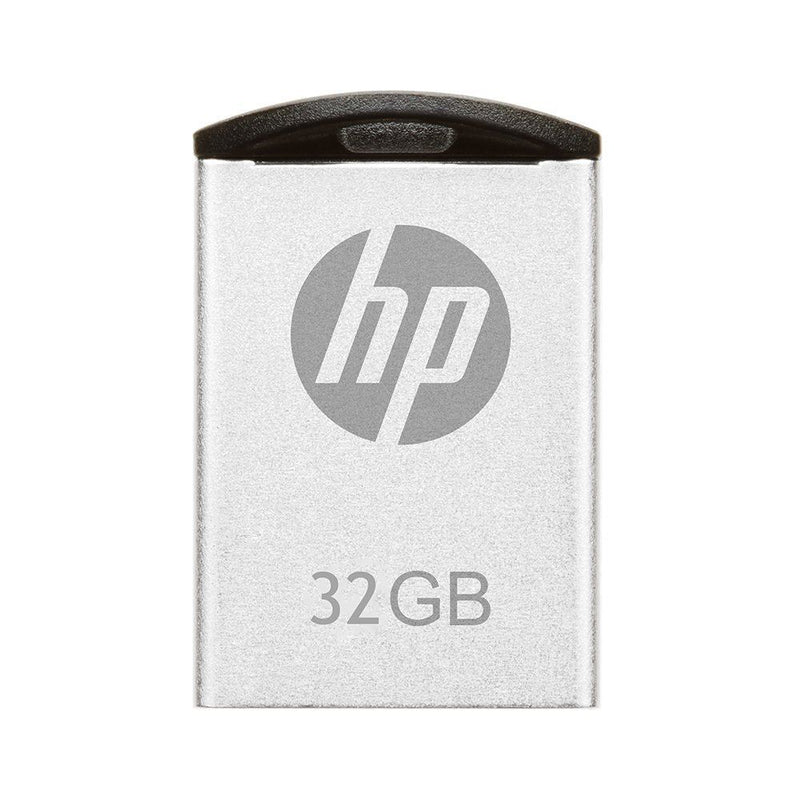HP 32GB Metal Sleek and Slim USB Drive v222w