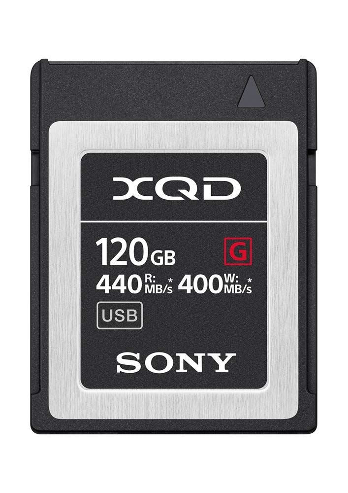 Sony G Series Tough 120GB XQD Card 5X Stronger 440MB/s