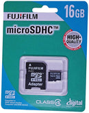 Fuji Film 16GB Micro SDHC Card, Class4 with adapter