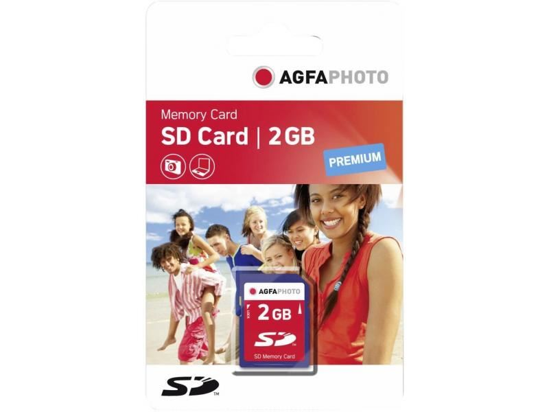 Agfaphoto Premium 2GB SD card