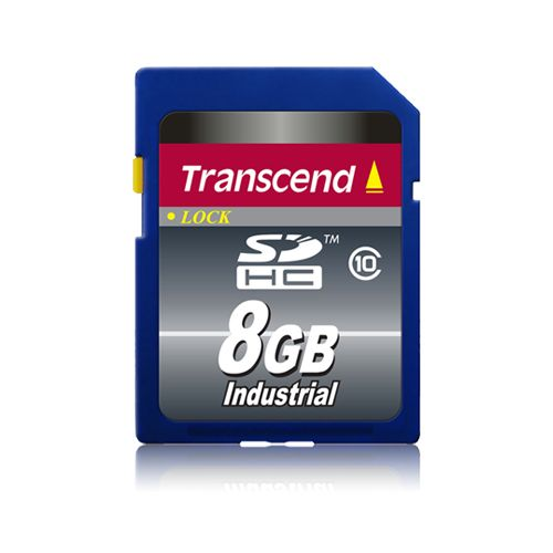 Transcend 8gb SDHC card Industrial Class 10