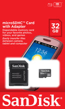 Sandisk 32gb Micro SDHC Card