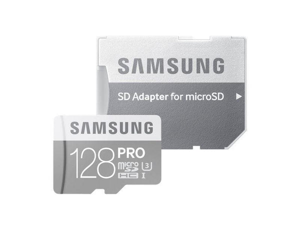 Samsung Pro 128GB MicroSDXC 90MB/s, Amazon Frustritation Pack