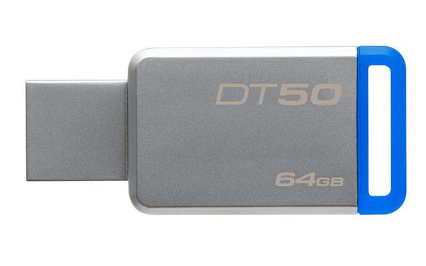Kingston 64GB DataTraveller 50 Metal USB3.1 Flash Drive