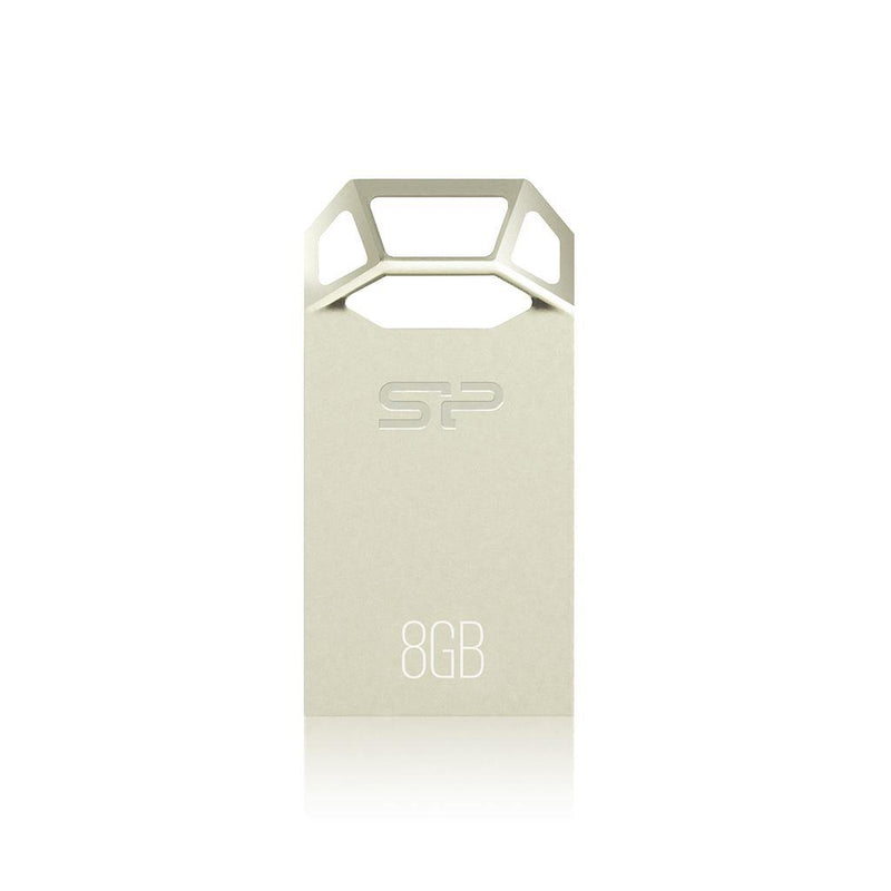 Silicon Power 8GB Touch T50 Metal USB Flash Drive