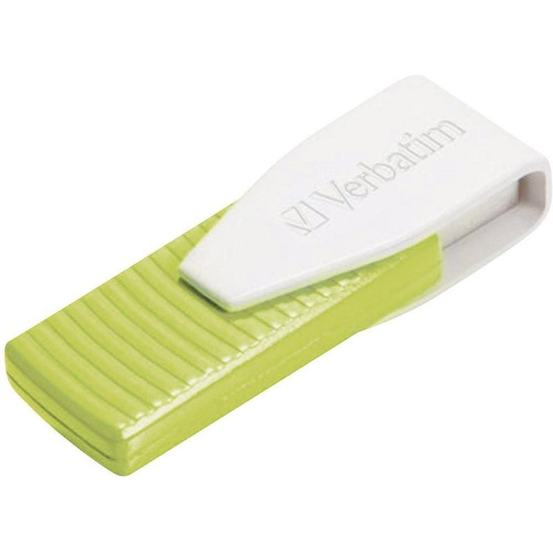 Verbatim 32GB Swivel USB Flash Drive- Green