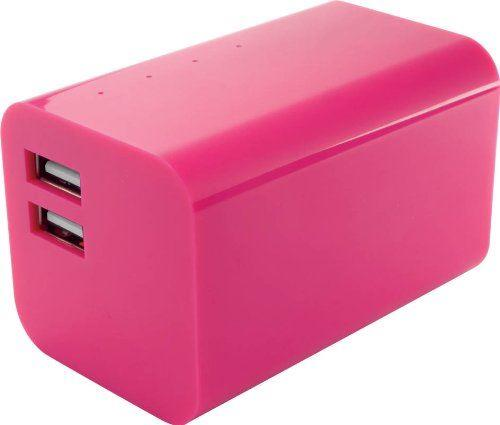 Yell Energy Bar External Powerbank 2 USB port 6600mAh Pink