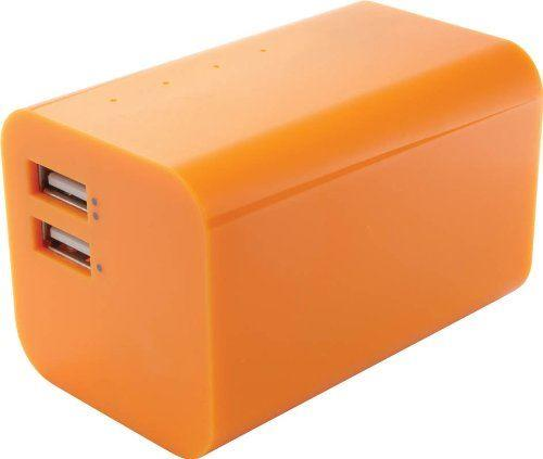 Yell Energy Bar External Powerbank 2 USB port 6600mAh Orange
