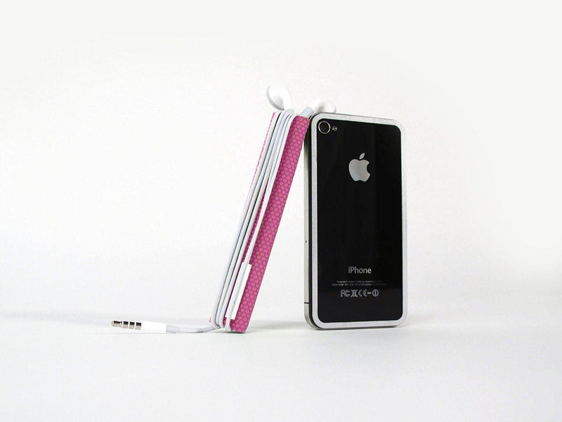 TidyTilt Mount/Stand/Wrap for iPhone 4/4S - Pink