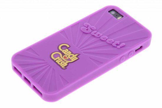 Candy Crush Scented Silicone Phone Case for iphone 5 Grape
