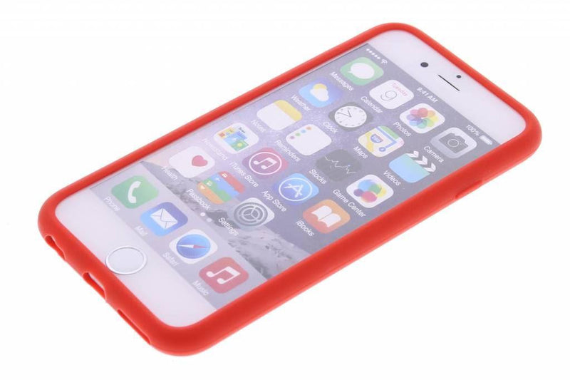 Candy Crush Scented Silicone Phone Case Strawberry Red for Iphone 6
