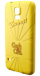 Candy Crush Scented Silicone Phone Case Lemon for Samsung S5