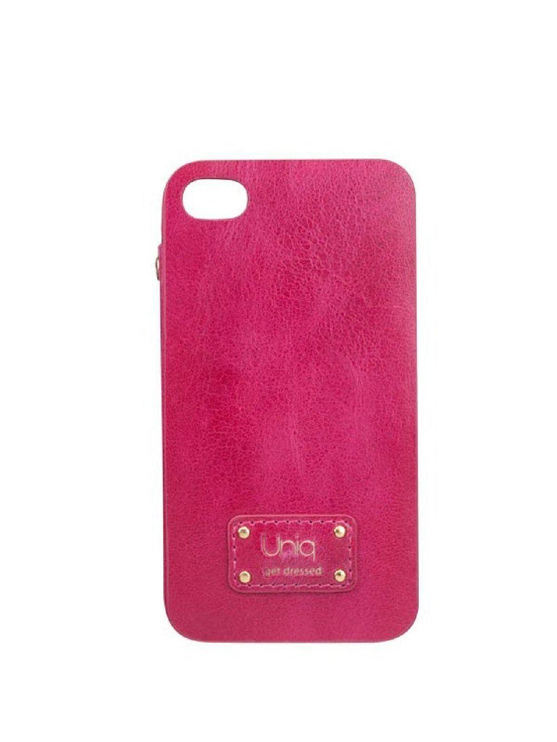 Uniq Soiree Strawberry Luxury Genuine Leather Phone Cover for Iphone 4/4S