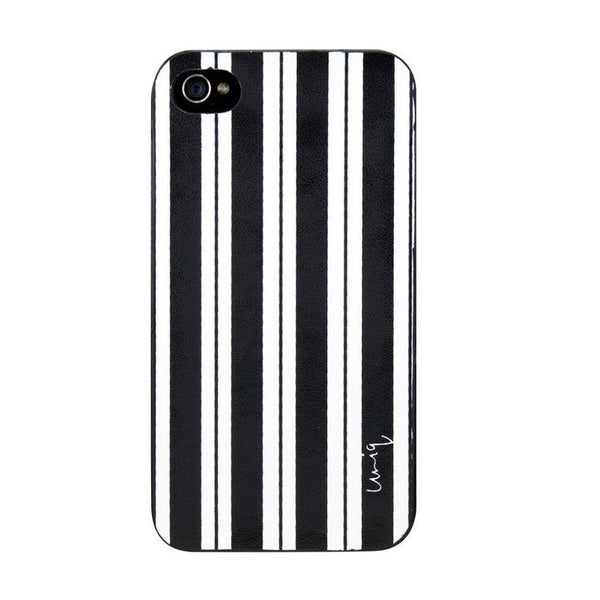 Uniq Mono+ Preppy Stripes Premium Phone Cover for iPhone4/4S