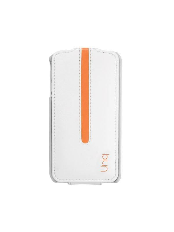 Uniq Neon Blanche Orange Premium Flip Phone Case for iPhone4/4S