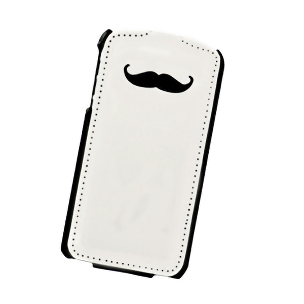 Uniq Prim & Proper Tache Me Premium Flip Phone Case for iPhone4/4S