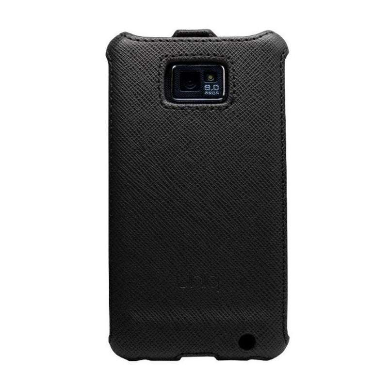 Uniq UniSuit- Weav Black Luxury Flip Case for Samsung Galaxy S2