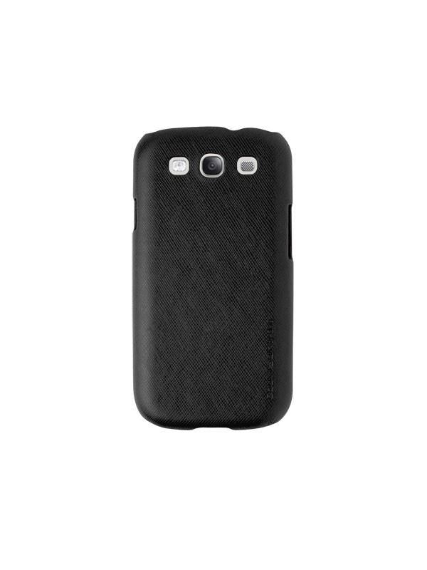 Uniq CouvirSuit Kriz -Onyx Black Luxury Phone Cover for Samsung Galaxy S3