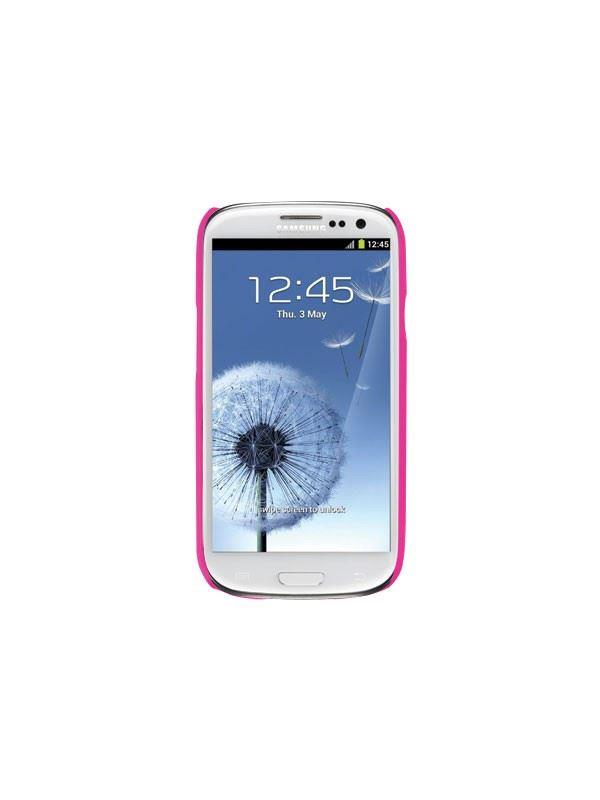 Uniq CouvirSuit Kriz - Charged Cherry Pink Premium Phone Cover for Samsung Galaxy S3