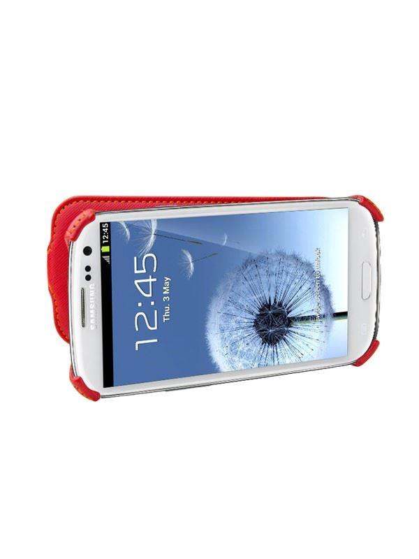 Uniq UniSuit Kriz -Jet Set Red Phone Case for Samsung Galaxy S3