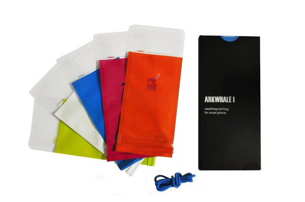 Arkwhale Waterproof Bag for Smartphones pack of 5