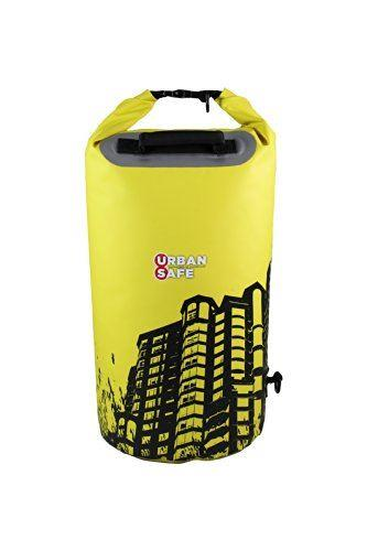 Overboard Waterproof Urban Safe Towers Dry Tube 20Ltr- Yellow